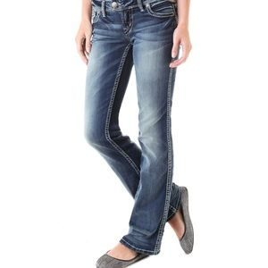 Silver Tuesday Low Rise Boot Cut Flare Jeans